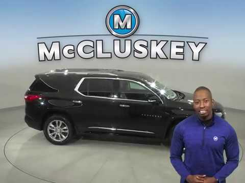 A16867YT Used 2018 Chevrolet Traverse Black SUV Test Drive, Review, For Sale -
