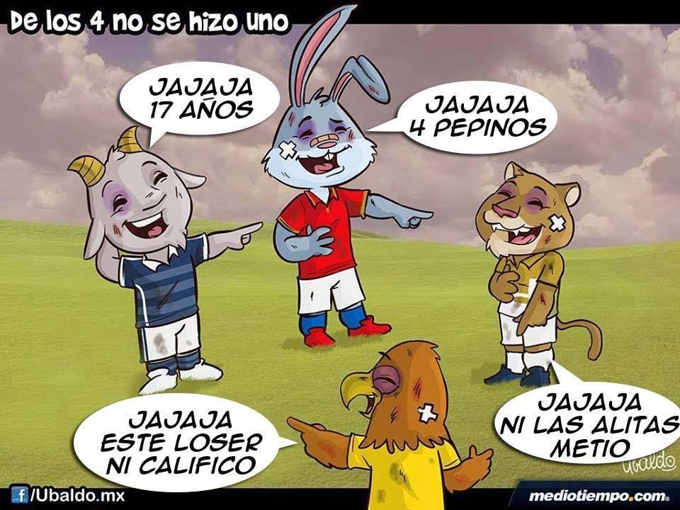 ADIÓS.. Cruz Azul, America, Chivas y Pumas .. Los 4 ...