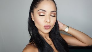 Chit Chat GRWM Bronze Eyes Tutorial- Diana Saldana
