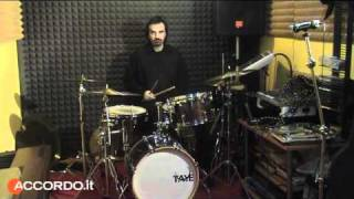 Batteria Taye Bebop Maple Kit, di Antonio Di Lorenzo