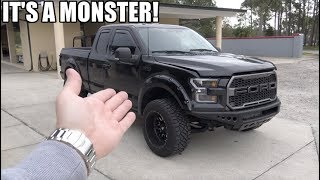 Taking Delivery Of My SUPERCHARGED Ford F150! **INSANE Dyno Numbers!!**