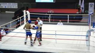 Ruslan Bikmenov (Russia) vs Sakas Loai (Israel) WAKO European Championship Maribor 25 October 2016