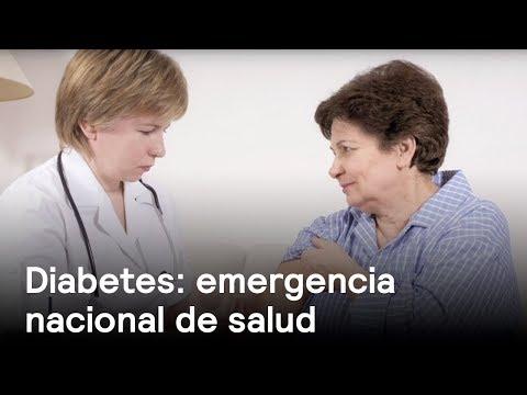 Diabetes, emergencia nacional de salud