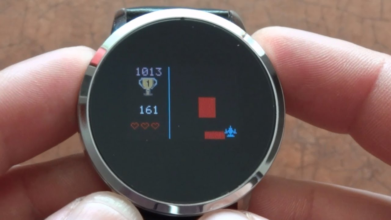 Newwear Q8 Smartwatch hidden game and functions overview