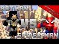 Супергеройские Битвы в Minecraft 2:SpiderMan vs Batman