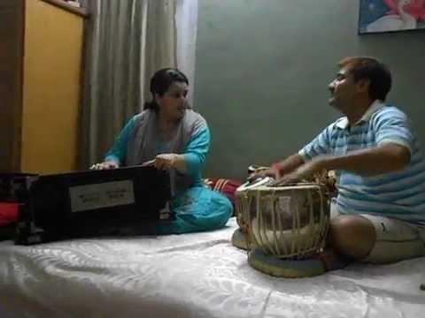 Sanwariya (Thumari) by Prof. Meenakshi Garg & Ravi Garg (on Tabla) chandigarh ghazal singer