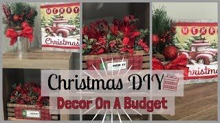 Christmas Dollar Tree DIY | Get the Look for Less