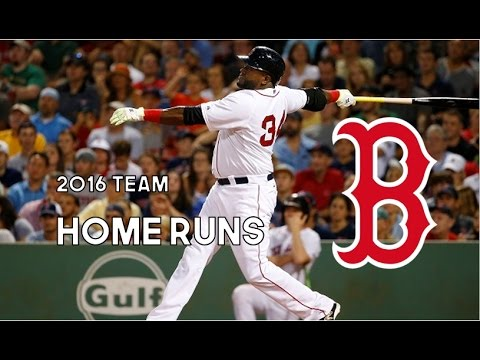 Boston Red Sox   2016 Home Runs (208)