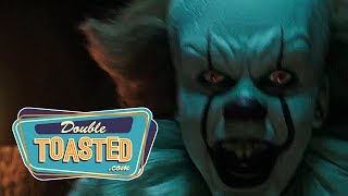 IT (2017) OFFICIAL MOVIE TRAILER REACTION - Double Toasted Review