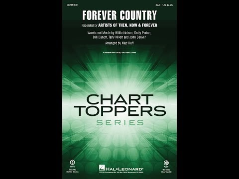 Forever Country (SAB) - Arranged by Mac Huff