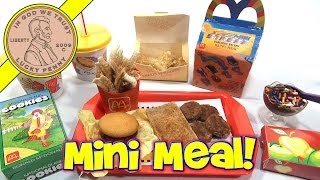 McDonald's Mini Happy Meal - Complete Toy Food Maker thumbnail