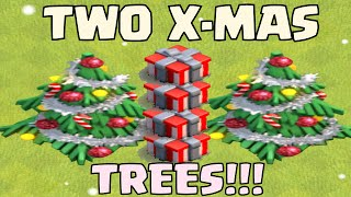 Clash Of Clans Getting Two Christmas Trees | Christmas Tree Base Designs | Update Questions