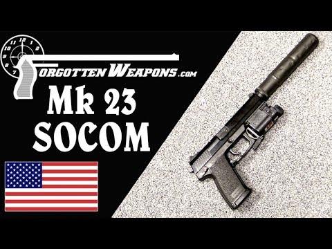 H&K Mk23 SOCOM 45 Development