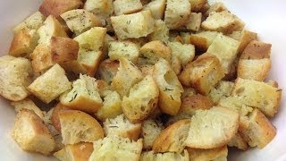 Amy's Homemade Herb Croutons