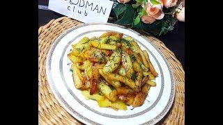 Жареный картофель с луком: рецепт от Foodman.club