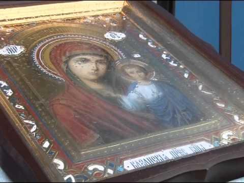 Путь паломника. Икона Казанской Божье Матери