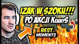 IZAK W SZOKU PO AKCJI KennyS-a!!! USP ACE,  MAJOR BERLIN 2019 DZIEŃ 1 - CSGO BEST MOMENTS