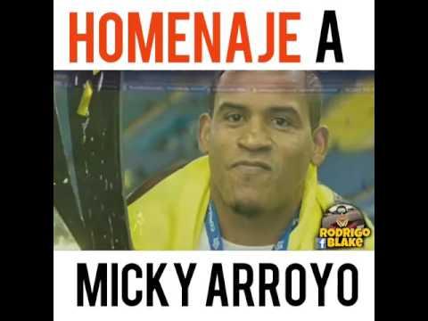 Homenaje a Micky Arroyo 2016