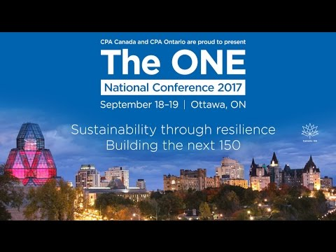 Join us at The ONE National Conference 2017 in Ottawa