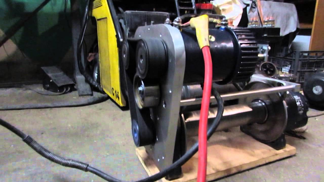Superwinch Talon Twin Motor Belt Drive Winch Youtube