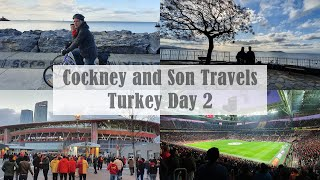 Istanbul Bike Tour and Galatasaray Home Game Istanbul Turkey Vlog Day 2