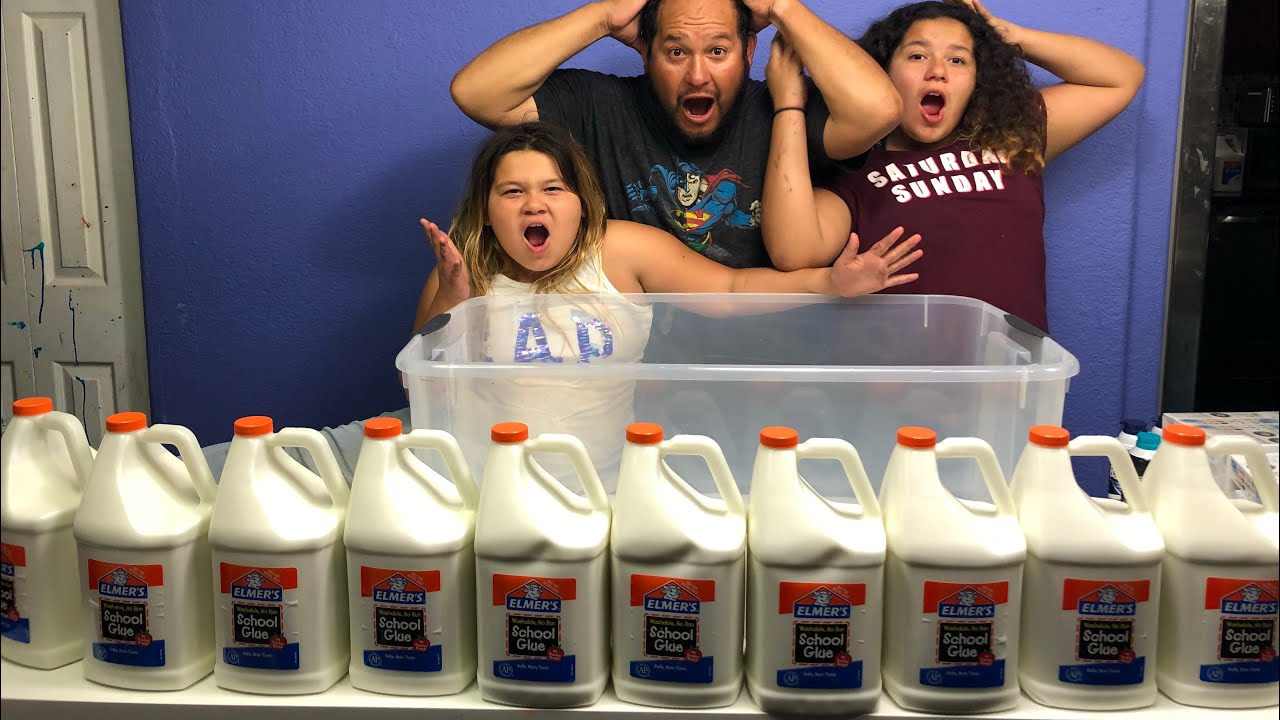 Slime Master Mary And Izzy: 100+ POUNDS OF FLUFFY BUTTER SLIME