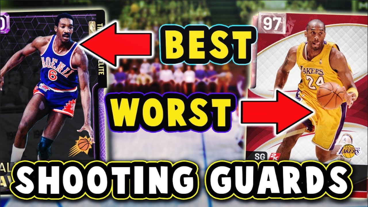 TOP 5 BEST/WORST VALUE SHOOTING GUARDS in NBA 2K19 MyTEAM!