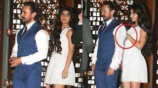Aamir Khan CAUGHT With Fatima Sana Shaikh In Public At Ambani's Party