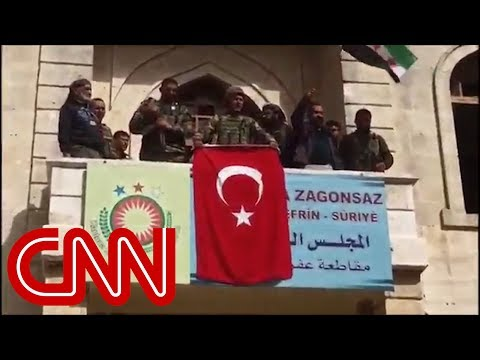 Erdogan: Afrin town center under control