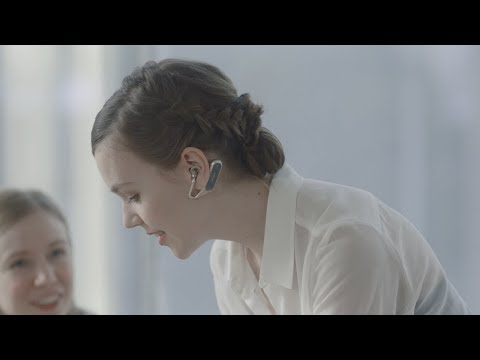 Discover a new way of listening with Xperia Ear Duo