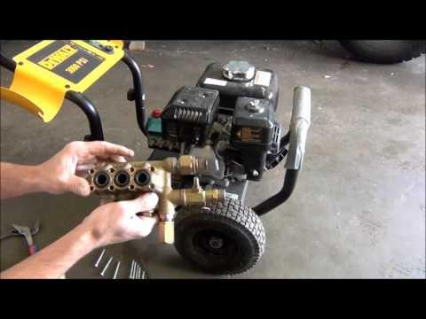 Dewalt 3000 psi pressure washer repair.