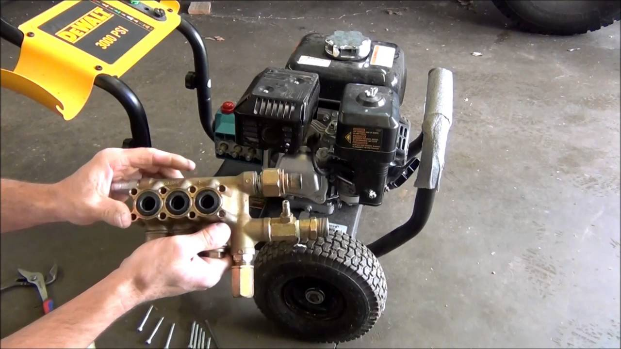 Dewalt 3000 Psi Pressure Washer Repair Youtube