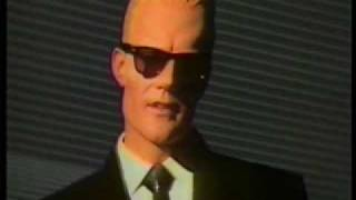Max Headroom talks