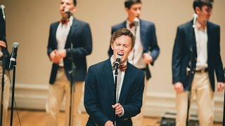 Honey I'm Good - The Virginia Gentlemen (A Cappella Cover) Family Weekend 2015