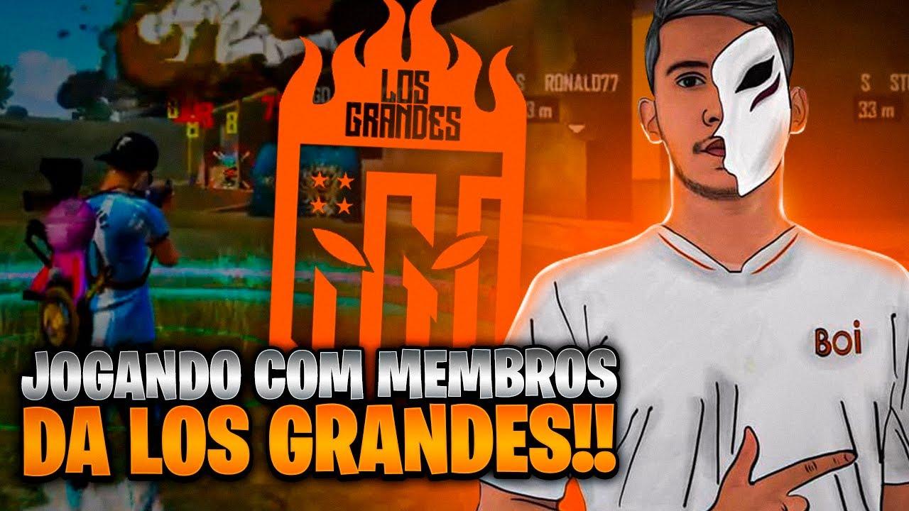 🐂LOS GRANDES -  TREINO FT:STELUTO #50K 🐂 CAMPEÃO DA NFA 🐂 $ㅤBOI77 🐂 FREE FIRE - AO VIVO 🐂