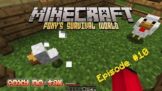 Minecraft Survival - How to build a Bigger House [10]