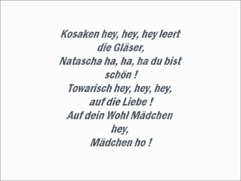 DschinghisKhan -Moskau (Lyrics)