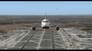 FLIGHT SIMULATOR 2004 HD AN ACCIDENT HAS OCCURRED IN FRANKFURT AIRPORT AIRCRAFT CRASH ON GROUND