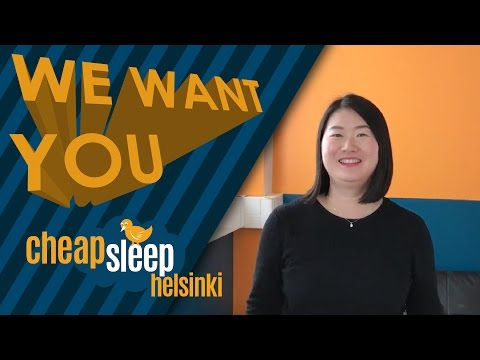 We Want You! - CheapSleep is recruiting!