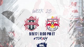 Toronto FC USL vs New York Red Bulls USL full match