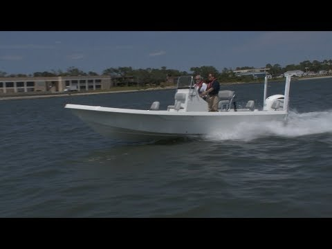 SSTV 24-03 - Designing And Building Bay Boat In NC (FULL EPISODE Aired 6-22-19)