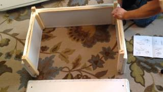 Ikea Ektorp Footstool Ottoman Assembly Instructions Video - How To