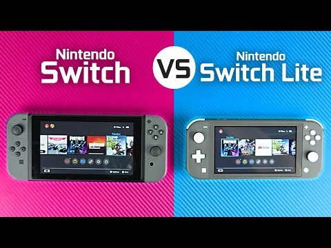 Nintendo Switch Lite vs Nintendo Switch