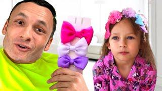 Papá e hijas +otras Canciones Infantiles | Maya y Mary