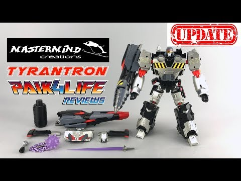 Transformers Review: Mastermind Creations R28 Tyrantron Preview UPDATED // P4L Reviews