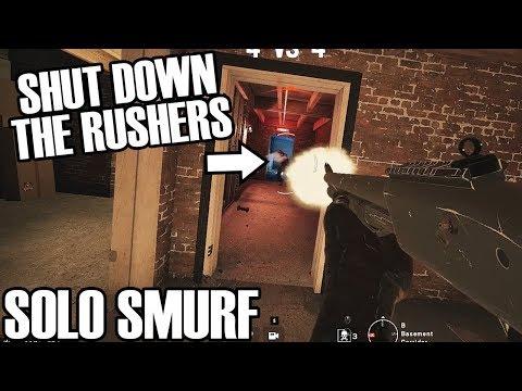 Solo Smurf: Countering The Rush - Rainbow Six Siege