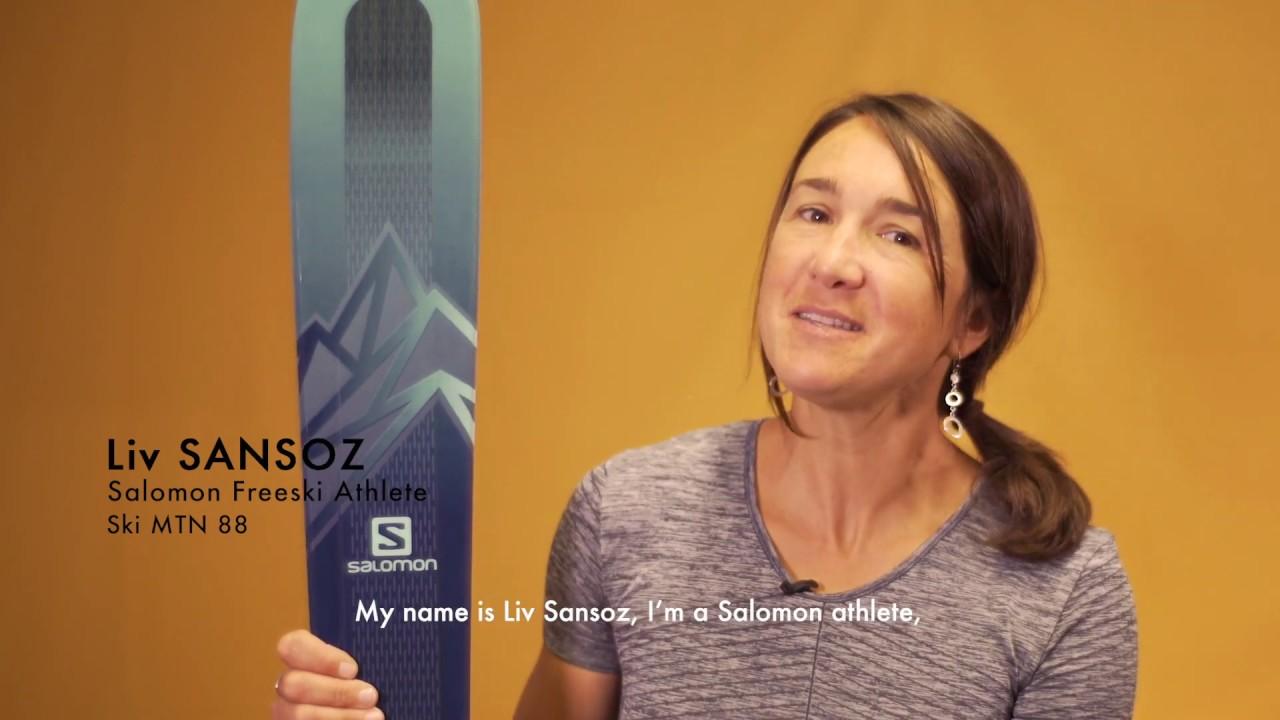 MTN EXPLORE 88 with Liv Sansoz | Salomon Freeski