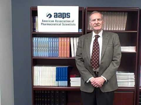AAPS President Phil Mayer wishes LIU College of Ph...