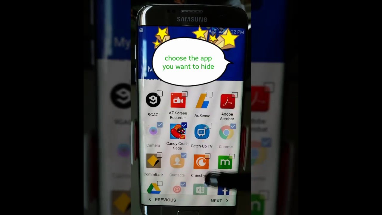 application samsung s6