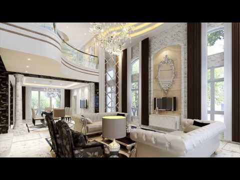 Interior Dream House in Indian Style